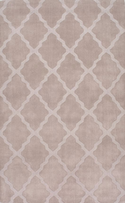 $5 Off when you share! Tuscan Modern Moroccan Trellis Taupe Rug | Contemporary Rugs #RugsUSA