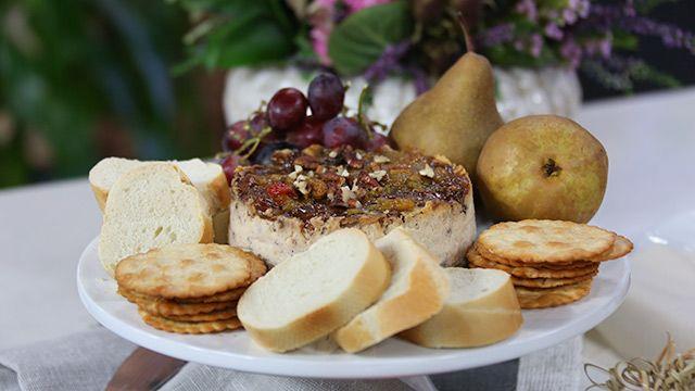 Fingerfood Recipe: Savoury Cheddar Cheescake Spread