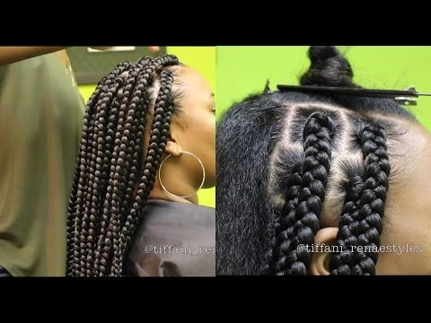 How-To: | Jumbo Box Braids [Video] - Black Hair Information