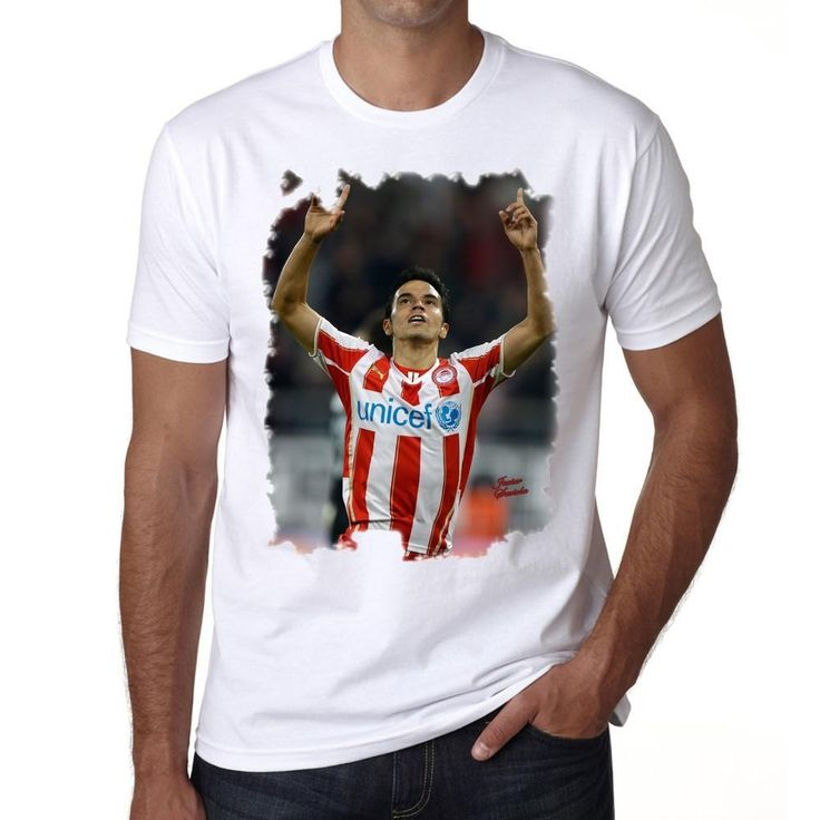 Javier Saviola Men's T-shirt ONE IN THE CITY