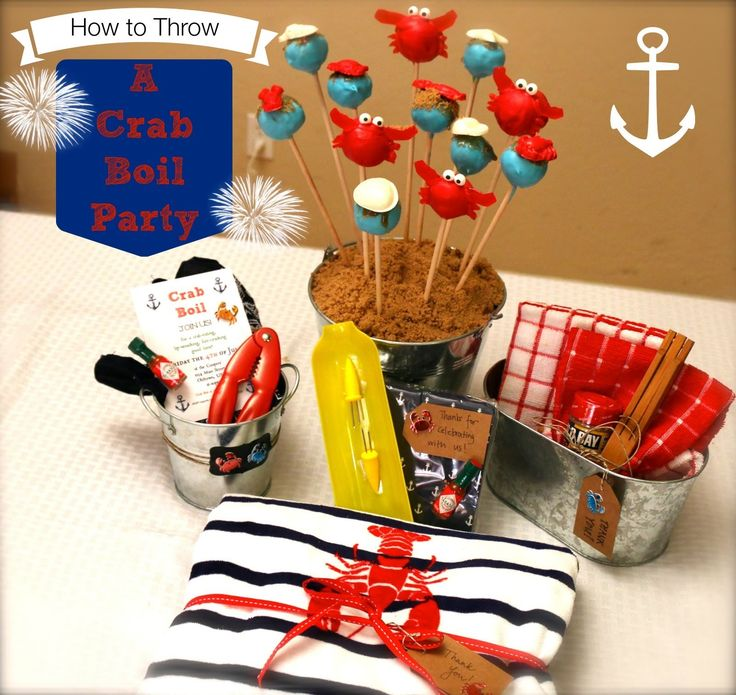 How to Throw a Crab Boil Party - Collaboration with BeMyGuestwithDenise ...
