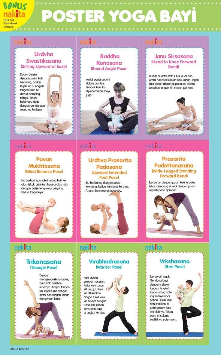 Yoga with Baby Pose - tabloid nakita