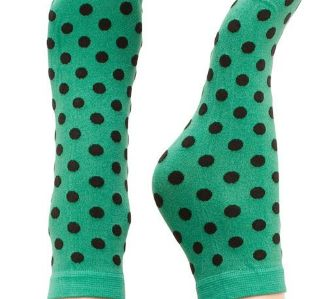 Sneaky Fox Pin up socks Danish design Jade one size