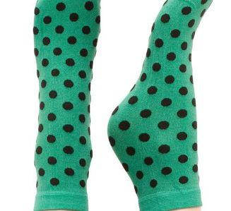 Sneaky Fox Pin up socks Danish design Jade one size