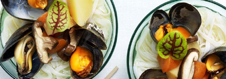 Hemkop.se   Musselsoppa med nudlar