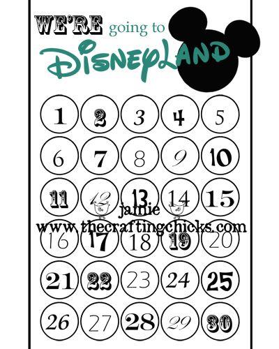 Best 25+ Disneyland countdown ideas on Pinterest Trip countdown - countdown calendar template