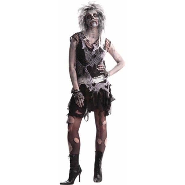Adult Womens Zombie Punk Costume