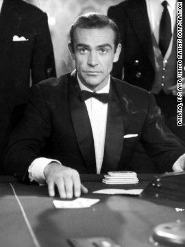 """Scottish actor Sean Connery played James Bond in the first film """"Dr. No"""" in 1962."""