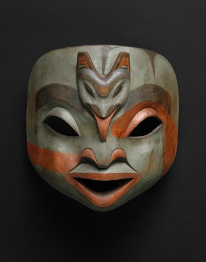 Native American Shaman Mask.