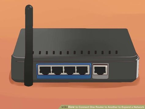 How to Connect One Router to Another to Expand a Network - wikiHow