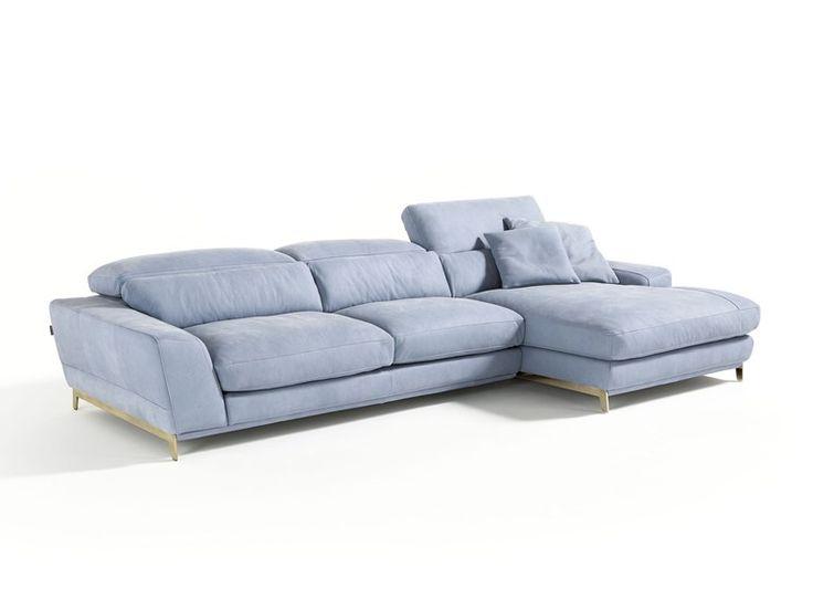 Sofá com chaise-longues BOOMER by Egoitaliano