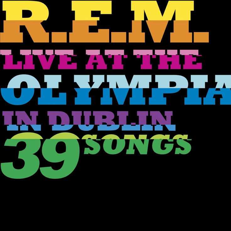 Amazon.com: R.e.m.: Live At The Olympia (Limited Edition)(2 CD/1 DVD/4 LP): Music