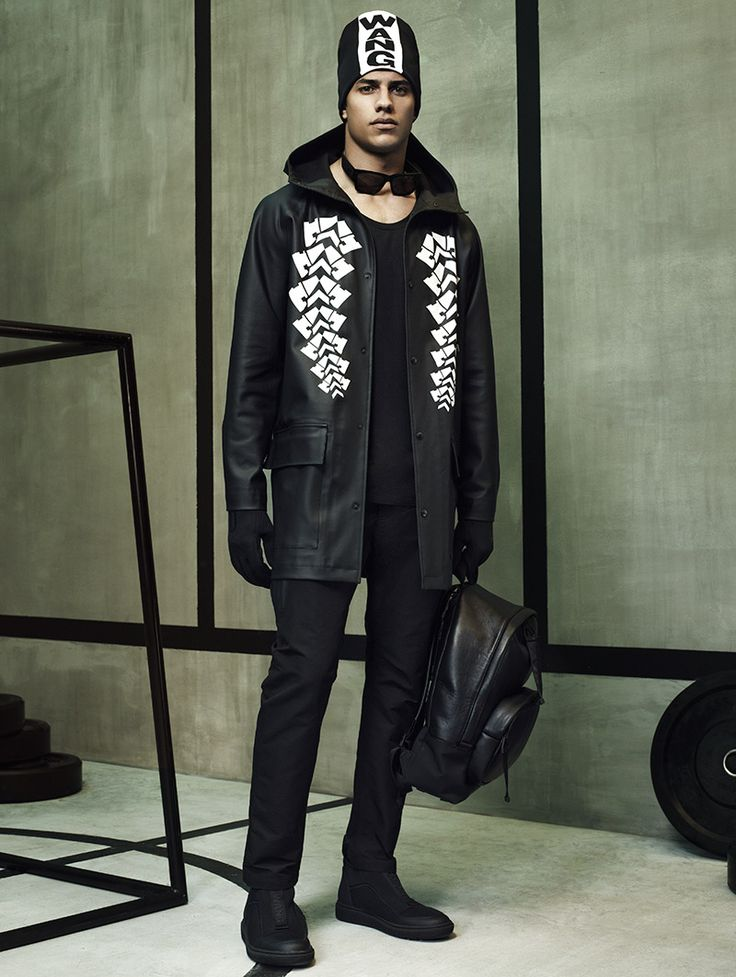 Alexander Wang x H&M Fall/Winter 2014 Lookbook | Highsnobiety