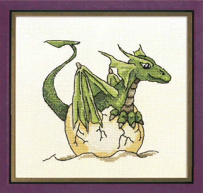 Small Dragon Cross Stitch Patterns Free   Cross stitch Chart
