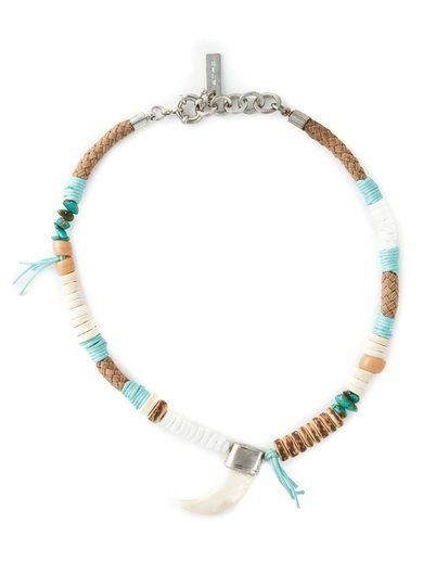Etro Tusk Beaded Necklace