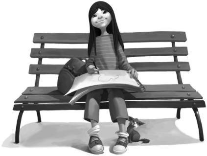 little girl-julia