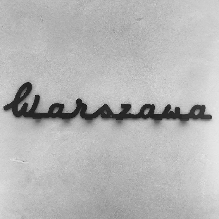 logo warszawa wieszak, warsaw coathanger