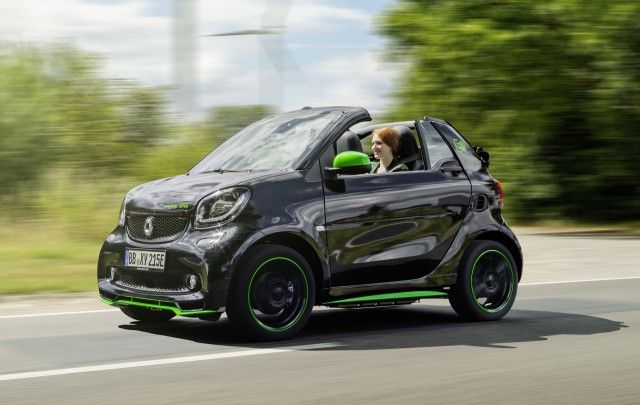 2017 Smart ForTwo Cabrio Electric Drive