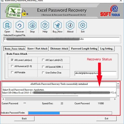 Esofttools Excel Password Recovery Software Excel Recovery