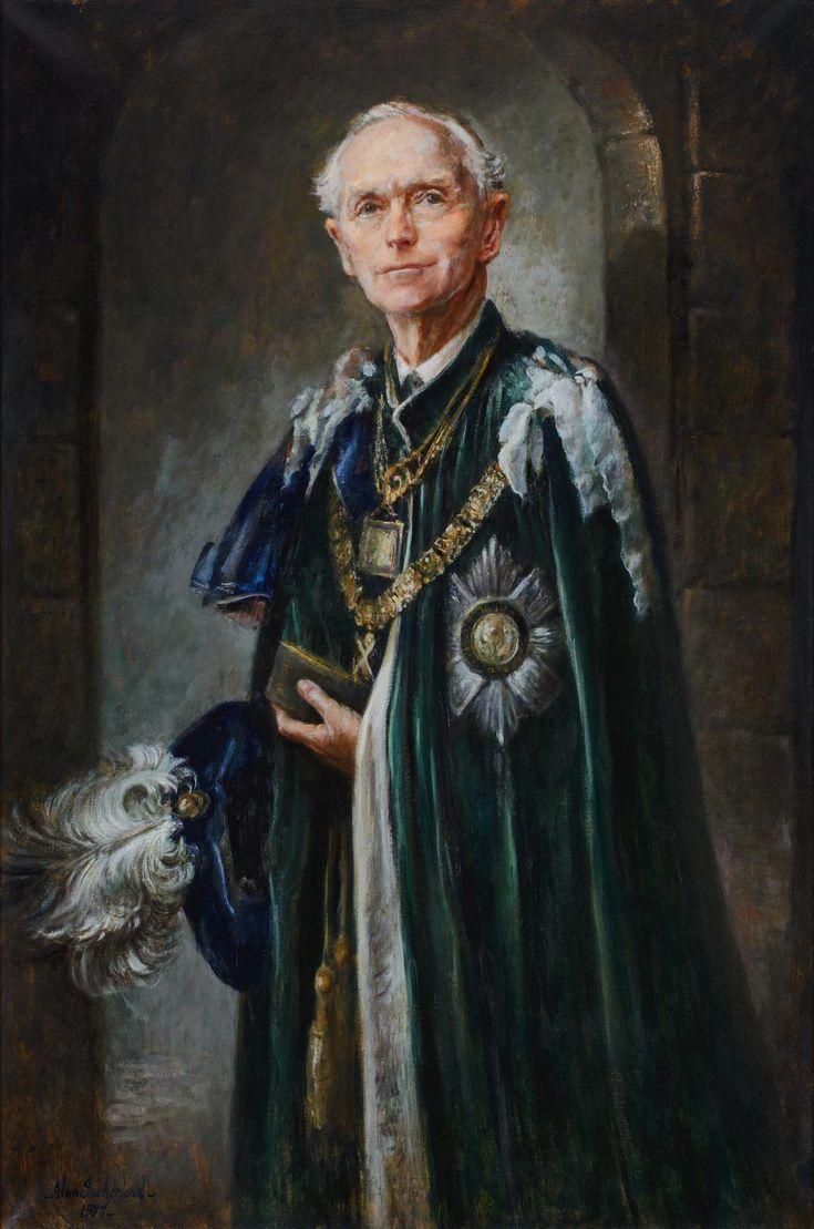 SIR ALEC DOUGLAS-HOME (1903 - 1995) New Club Edinburgh | Oil on canvas | 1977