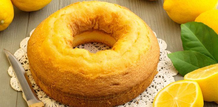lemon and yoghurt cake