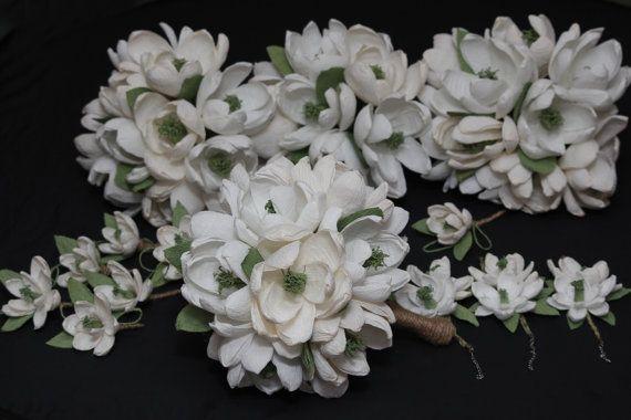 wedding bouquet rustic bridal bouquet rustic by FlowerDecoration