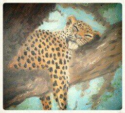 Leopard by NemesiArt.deviantart.com on @deviantART