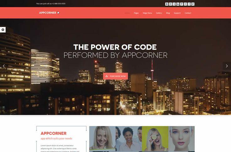 Appcorner HTML5 Template