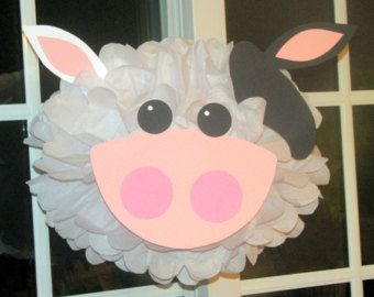 Kit de pompón de papel de seda Chick parte por TheLittlePartyShopNY