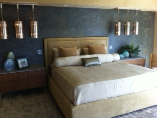 Contemporary Master Bedroom With Pendant Lighting. Interior Design By Syril  Lebbad Baeru0027s Sarasota Store Part 89