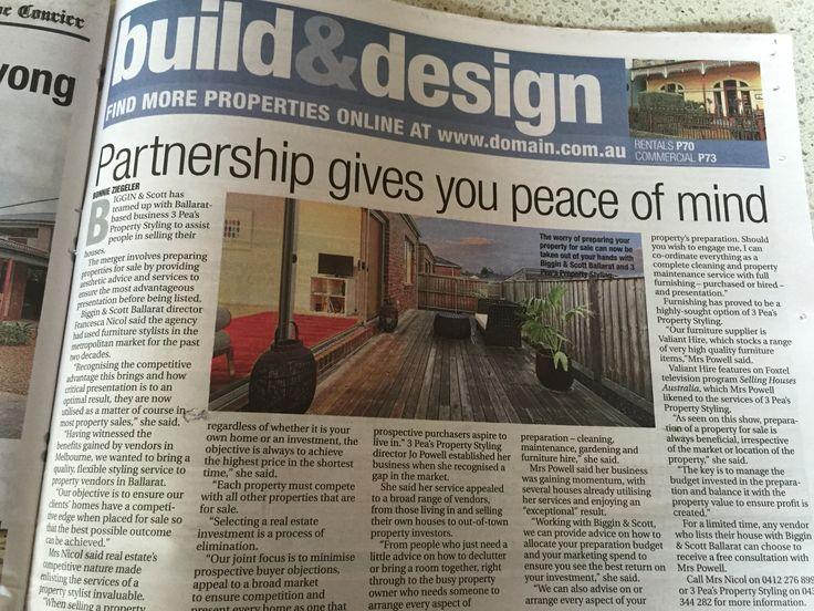 Build & Design, The Ballarat Courier.