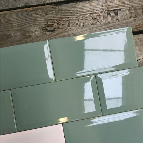 25 beste idee n over keuken wandtegels op pinterest metrotegels en keuken tegels - Groene metro tegels ...