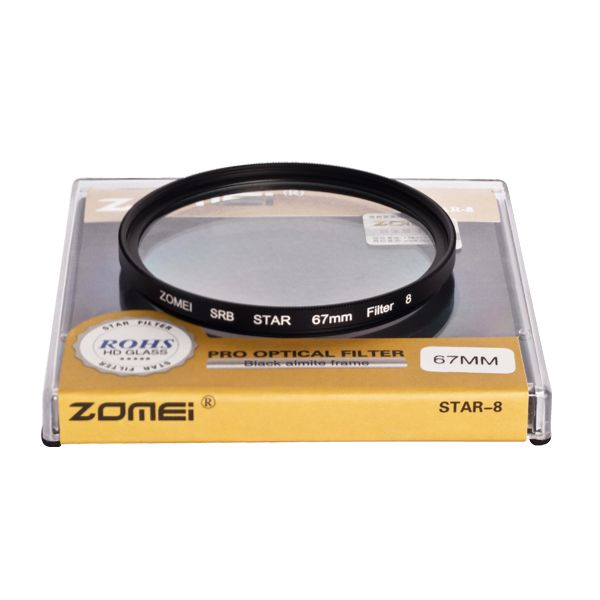 Zomei Photography Glass 4 Star Filter 72mm wholesale photography supplies