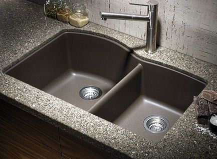 Make Your Kitchen Sinks Adorable with Granite Composite Kitchen Sinks - http://www.home-security-systems.net/make-kitchen-sinks-adorable-granite-composite-kitchen-sinks.php