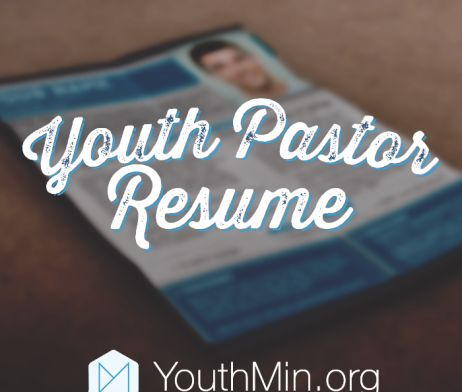youth pastor resume template download