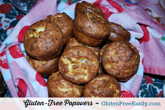 Delicious Gluten-Free Popovers from Gluten Free Easily.com ... they beat out standard bread every time!
