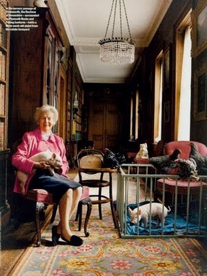 Decadent Old Bitches, The Duchess of Devonshire