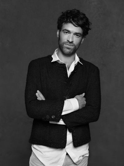 Romain Duris :CHANEL : THE LITTLE BLACK JACKET BY KARL LAGERFELD & CARINE ROITFELD -
