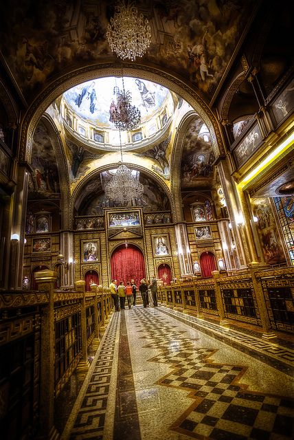 """Coptic Orthodox Church """"The Heavenly Cathedral"""", Coptic Orthodox Church in Sharm el-Sheikh, Egypt."""