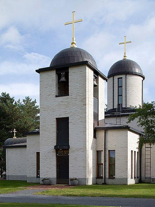 Ortodoksikirkko, Pori. Raimo Ahonen.