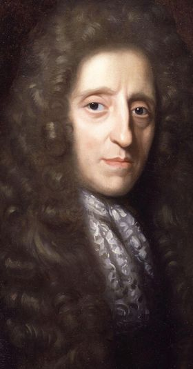 John Locke (1632-1704). English philosopher whose principles where used for Declaration of Independence
