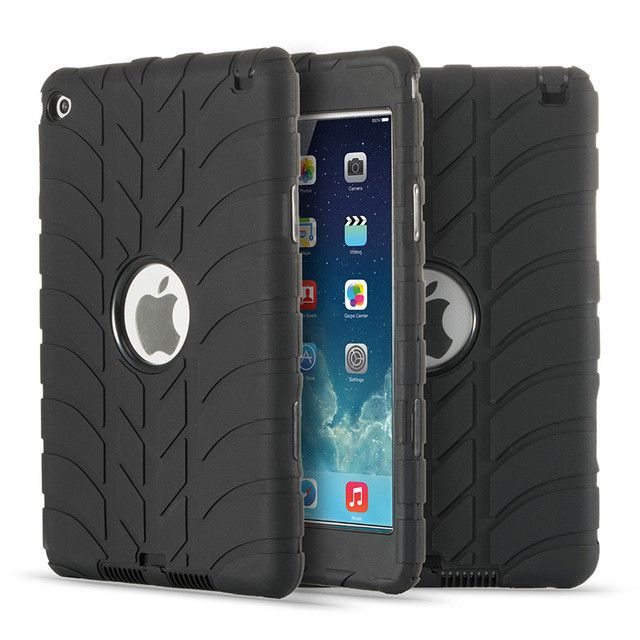 Carry360 For Apple iPad Mini 4 Case Kids Shockproof Military Grade Heavy Duty Full Rugged Silicone Hard Case Cover