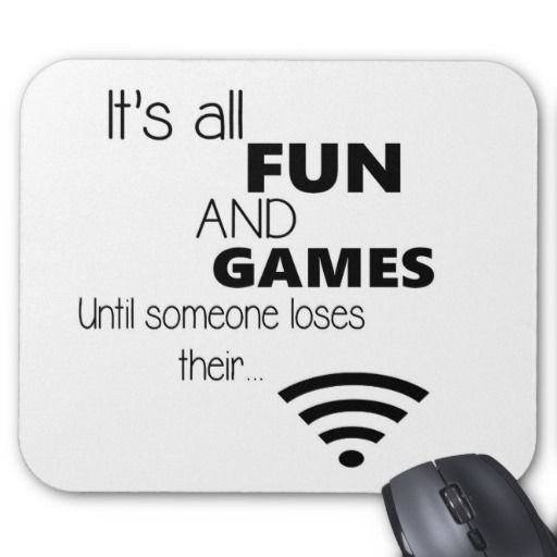 Funny Computer / Internet Quote Mousepads