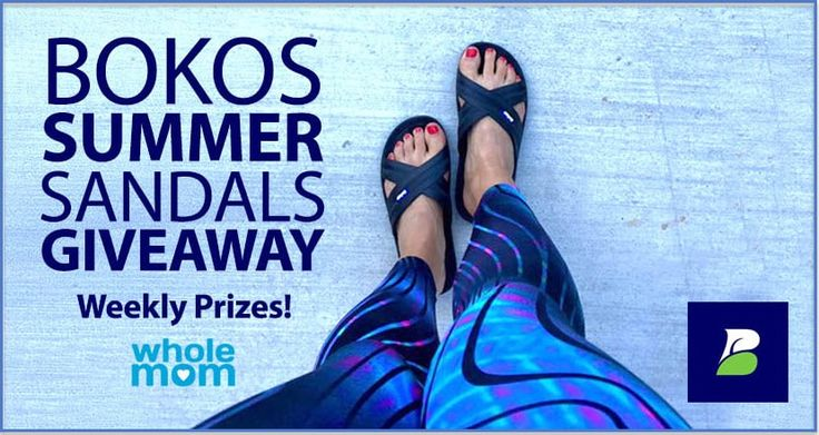 Enter for a chance to win Bokos Summer Sandals. Ends August 30, 2017