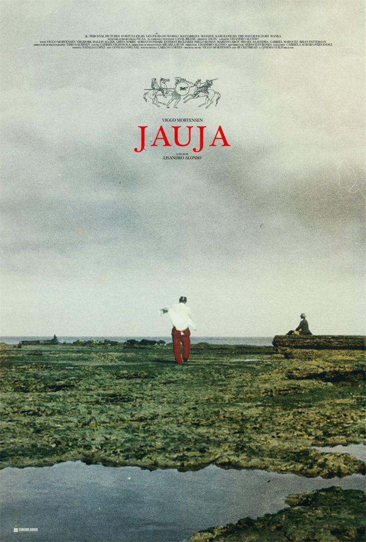 Early poster concept for Lisandro Alonso's 'JAUJA' ""