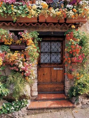 Wow: The Doors, Cottages Gardens, Back Doors, Window, Front Doors, Gardens Doors, House, Flower, Little Cottages
