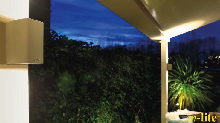 ACE UP - DOWN | Wandlamp | Design | Rose Silver | 12V | Outdoor lighting | Overkapping | Sfeervol buiten | Inspiratie | Tuinverlichting