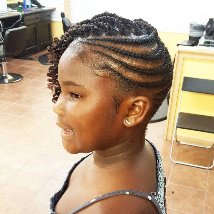 Braid Hairstyles For Kids With Real Hair Easy Braid Haristyles