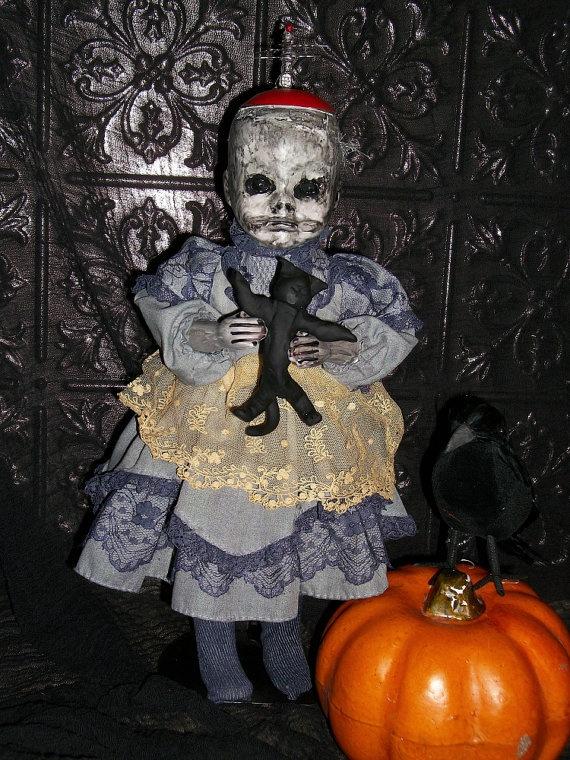 Best 25 creepy doll costume ideas on pinterest creepy for Tattoo freak costume