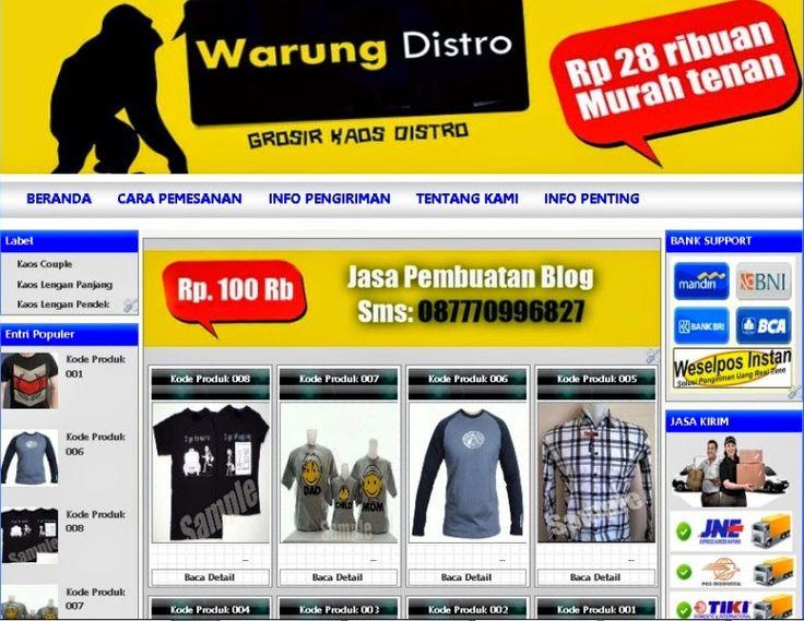 Jasa Pembuatan Website | Jasa Pembuatan Blog Murah | Jasa SEO  - Toko Online - Profil Perusahaan - Portal Berita - Portofolio - Dll...  Harga Pembuatan Blog: 100 Rb Harga Pembuatan Website: 300 Rb  Hubungi: 087770996827 Kunjungi: http://jasapembuatanblogonline.blogspot.com http://jasapembuatanwebsitebogor.blogspot.com